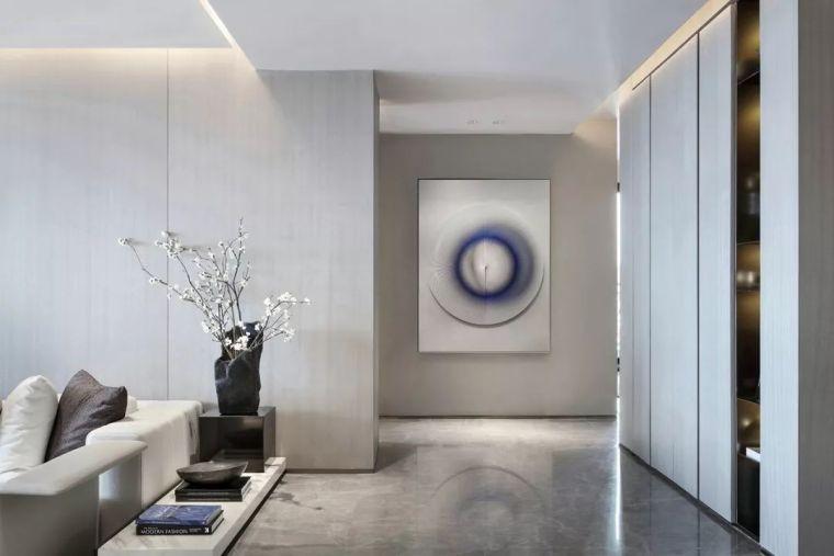 271㎡简约风格大平层,精致的装饰创造安静的艺术奢宅!