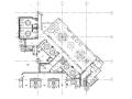 [澳门]五星级酒店内部餐厅装修施工图(附效果图)