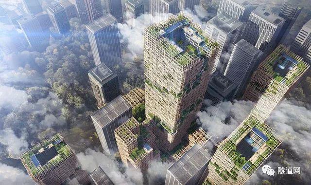 350米,日本公司计划把木结构大楼推向另一个新高度