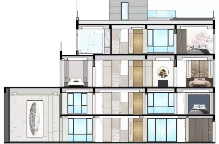 质朴材质也能构建空间气质,顶级别墅样板间设计_27