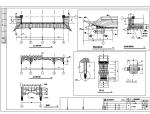 【上海】桥梓湾商城会所仿古建筑设计施工图