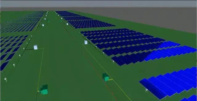 BIM案例]湖南娄底光伏发电项目BIM技术应用