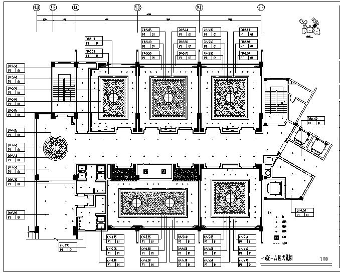 [四川]大唐宴会办公空间设计施工图(附效果图)