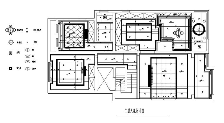 二层天花尺寸图