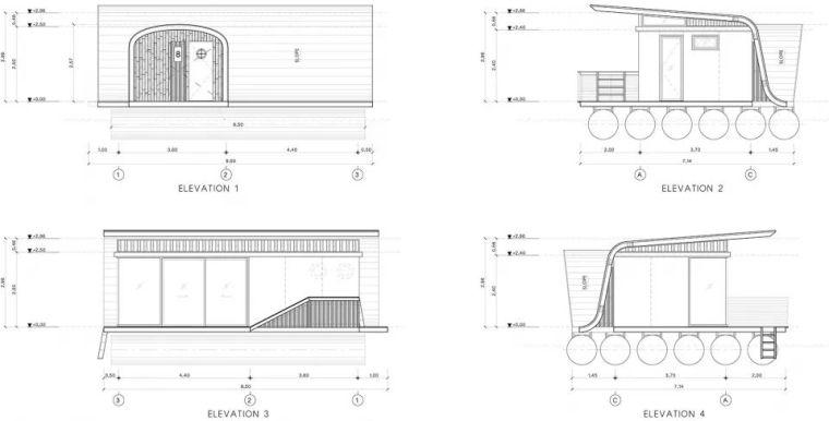 超美的水上筏式酒店设计,美出了新高度_23