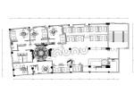 欧式简约风格西餐厅装修全套施工图(附效果图)