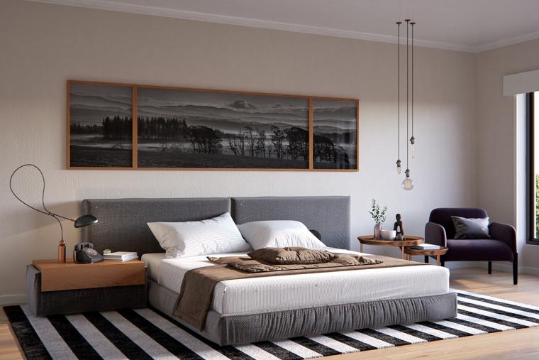 别致且优雅的北欧风公寓_8