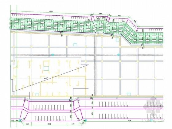 [安徽]深基坑重力式水泥土墙支护施工图