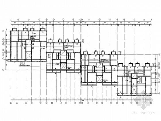 24层框剪住宅结构施工图(地下室、筏板基础)