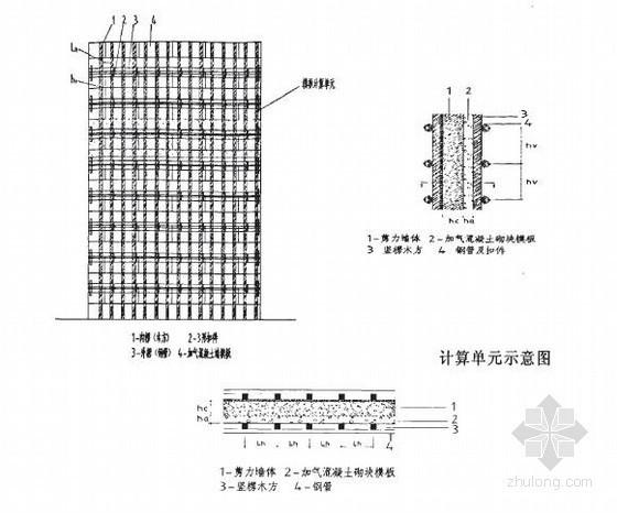 钢筋混凝土剪力墙复合加气混凝土砌块自保温体系施工技术研究94页(硕士)