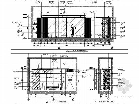 [原创]高档奢华三层别墅室内装修施工图(白宫细的金鸡岭图纸谁大济南市别墅区是图片