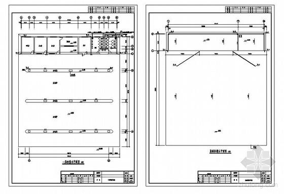 某加油站给排水施工图