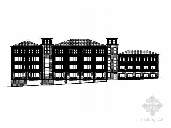 [四川]多层框架结构综合酒店建筑施工图(15年超详细图纸)