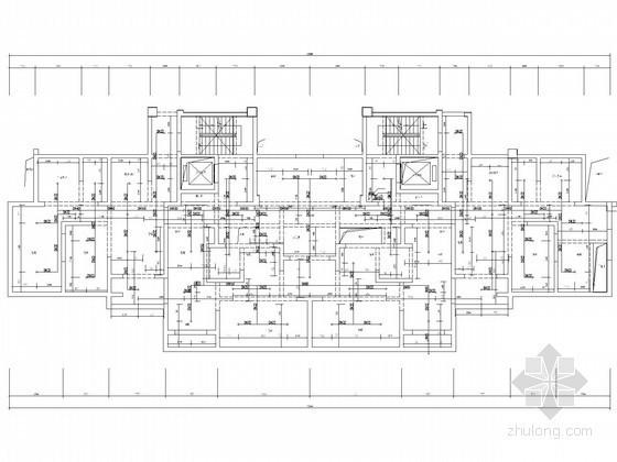 [河南]3万平高层商住楼给排水消防施工图(雨水 收集利用)