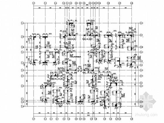 [四川]四栋18层剪力墙结构C户型住宅楼结构施工图(仅地上结构)