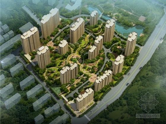 [杭州]依山傍水生态宜居型小镇景观设计方案