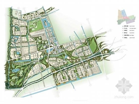 [上海]国际级体育中心景观方案概念规划(著名设计公司)