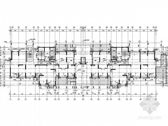 [江苏]100米商业住宅楼给排水图纸(含4栋楼、同层排水)
