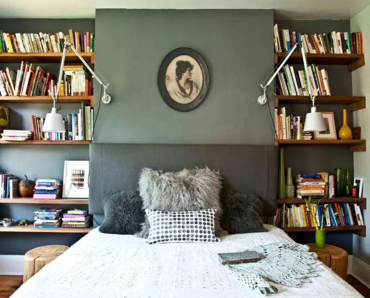 如何在家里挤出一间书房,这4种方案必须收藏!_25