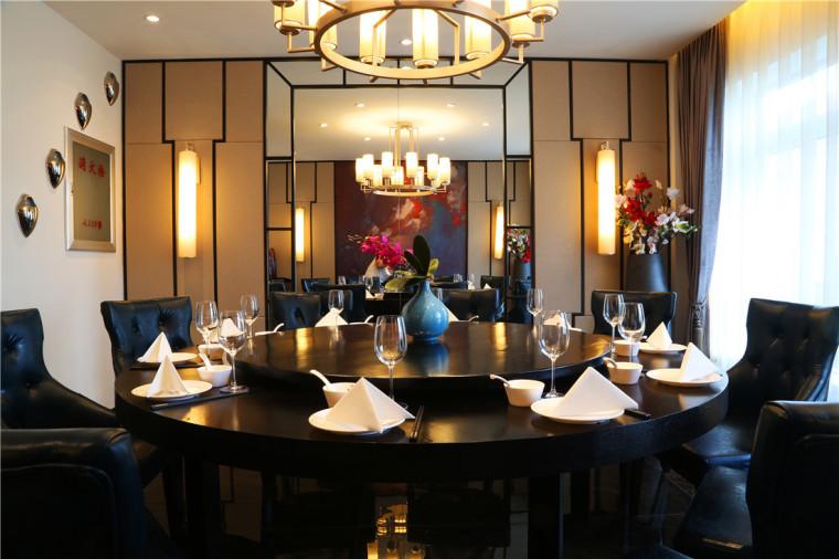 [特色餐厅设计]大连粤食粤点餐厅项目设计实景照片震撼来袭-9.JPG