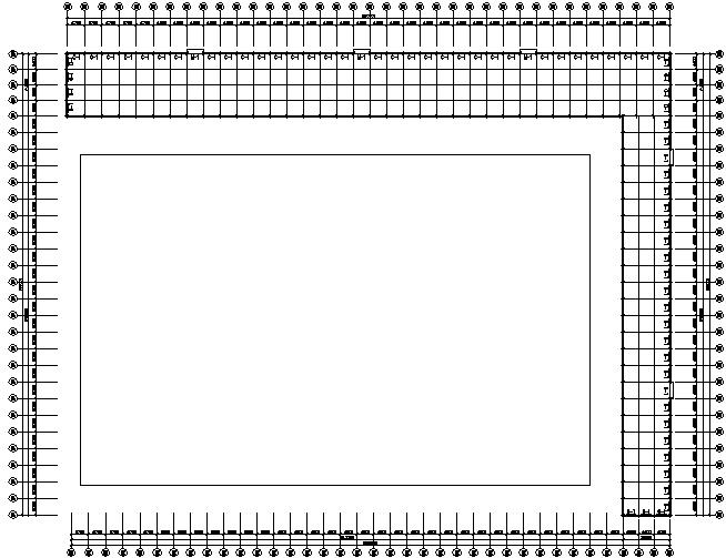 西安公司门式钢结构工程施工图(CAD,10张)