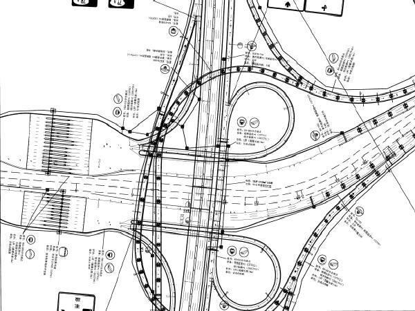 [四川]3km高速公路工程交通工程及沿线设施设计图纸832页(监控通信收费照明,智能交通)
