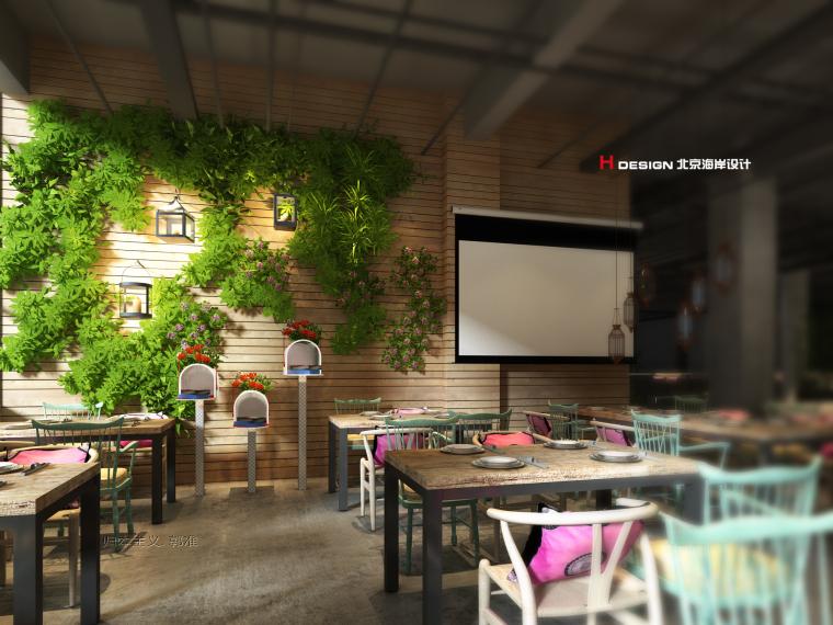 吉首苒时光茶餐厅时尚餐饮设计案例_2