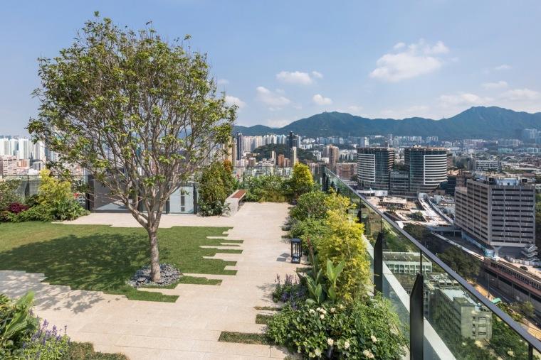 香港旺角空中花园会所