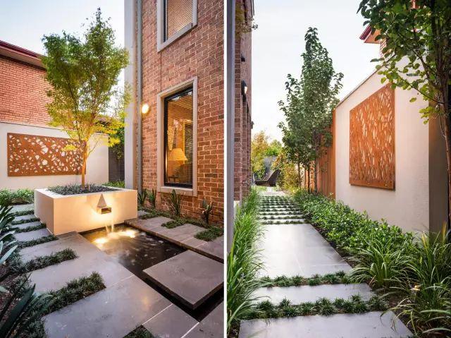 赶紧收藏!21个最美现代风格庭院设计案例_92