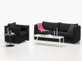 这把椅子真棒丨barber携osgerby打造小巧型沙发系列