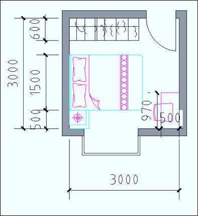 住宅户型的合理尺度(经济型、舒适型、享受型)_14