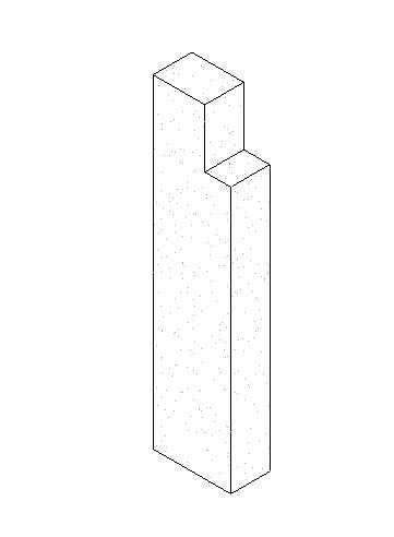 预制-承重矩形柱