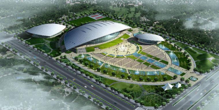淮南体育文化中心暖通空调方案设计暖通设计说明书