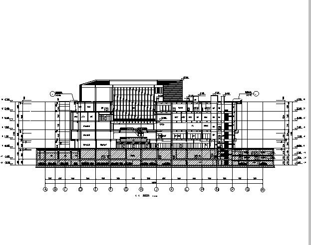 [江苏]高层多动能框剪结构商业街建筑施工图_7
