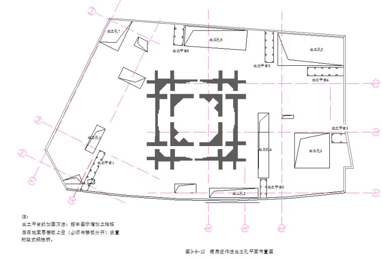 商业中心地下工程逆作法施工组织设计(钢管柱、地下连续墙)