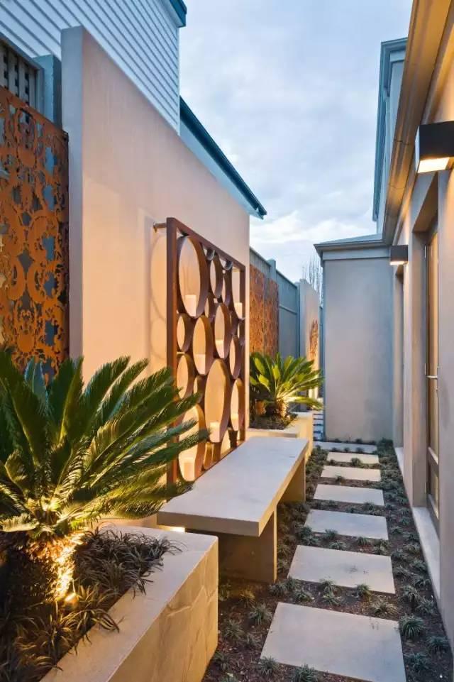赶紧收藏!21个最美现代风格庭院设计案例_146