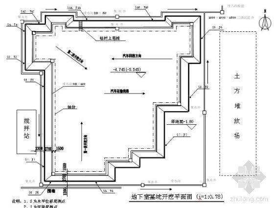 广州某学院综合楼土方工程施工方案
