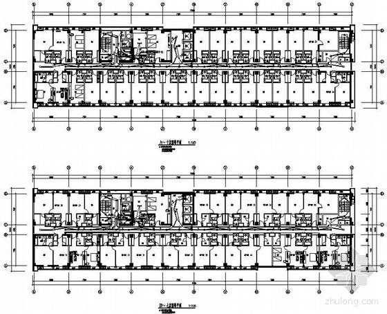 江苏昆山某酒店式公寓电气图纸