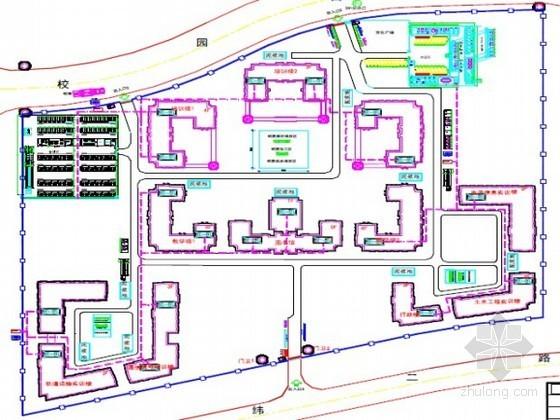 [天津]框剪结构教学楼施工组织设计(附图表说明)