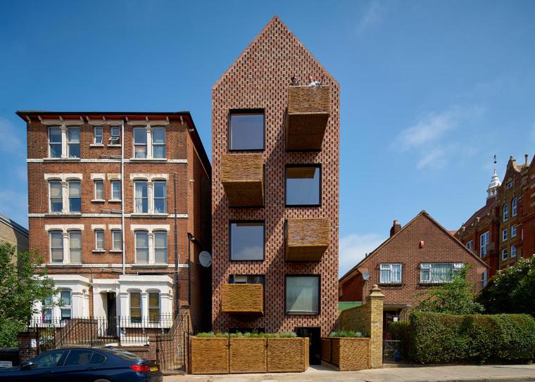 俏皮柳树编织阳台:砖木结构—可持续住宅