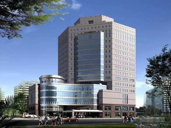 [长沙]十二层框架结构办公大厦结构施工图(含部分钢结构)