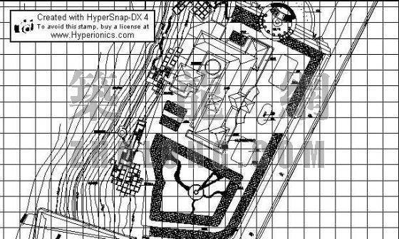 配套景观工程竖向设计图