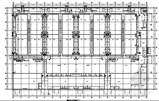 [哈尔滨]数据中心机房楼及制冷站空调系统设计图