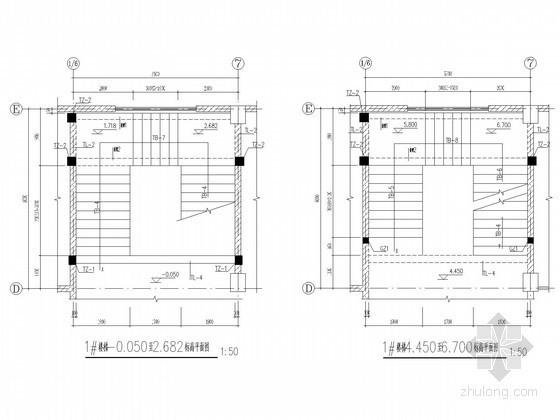 折梁楼梯节点构造详图