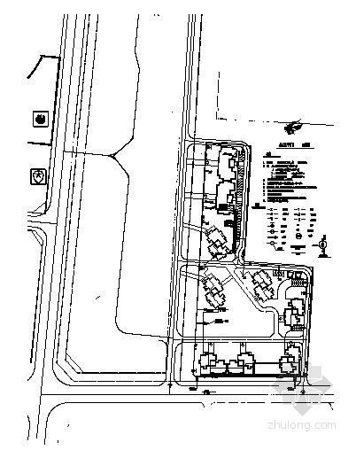 [东莞]某公寓三期给排水施工图(总图+1号楼)