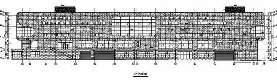 [济南]超市外墙幕墙设计图