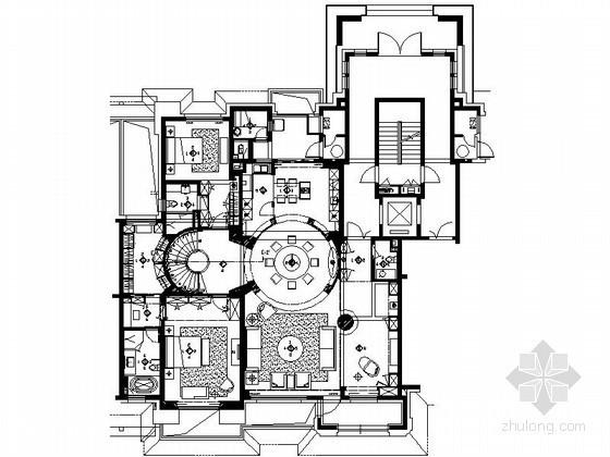 经典时尚双层别墅L2户型室内装修图(含实景)