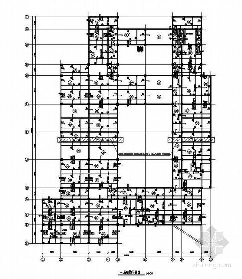 [学士]某4层框架高校图书馆毕业设计(含计算书,结构图)
