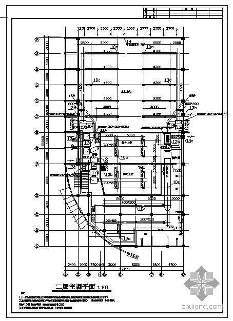 某会堂中央空调施工图