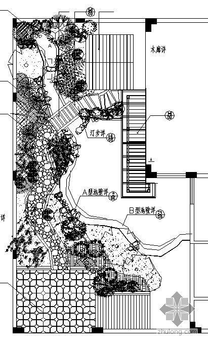 广东全套别墅园林绿化施工图